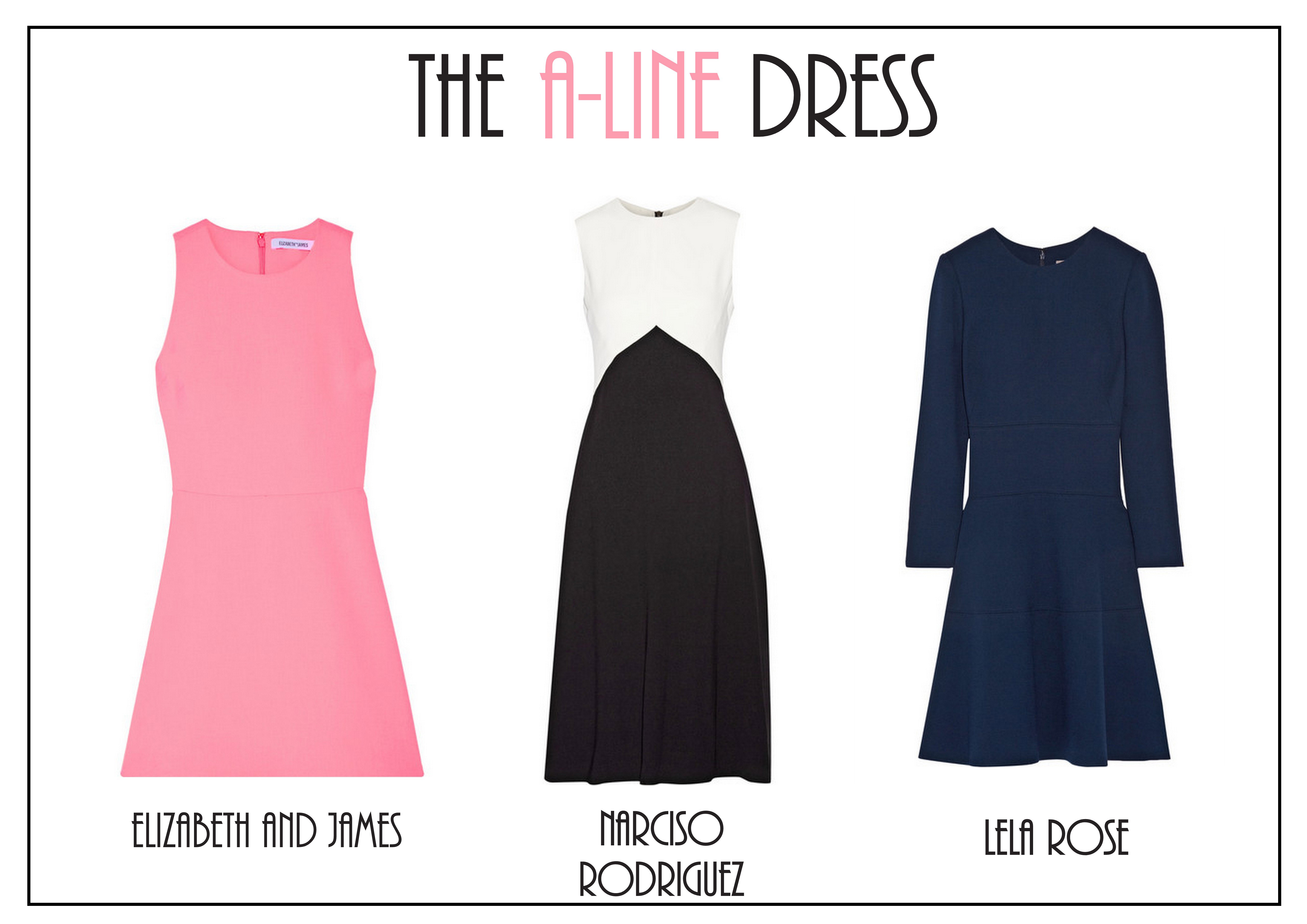 The A-line Dress | The Fashion Folks