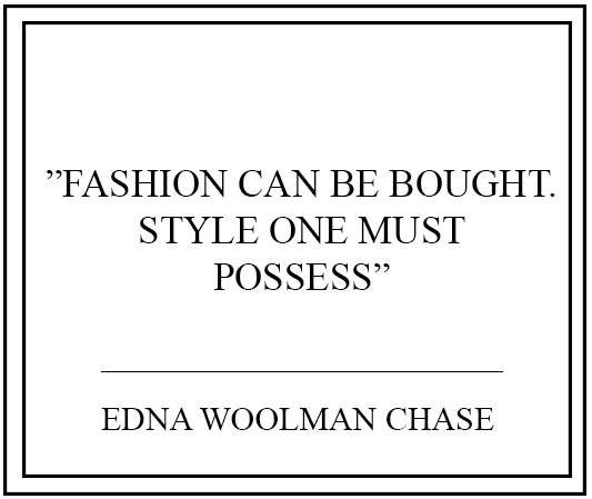 10 Thoughtworty Fashion Quotes | The Fashion Folks