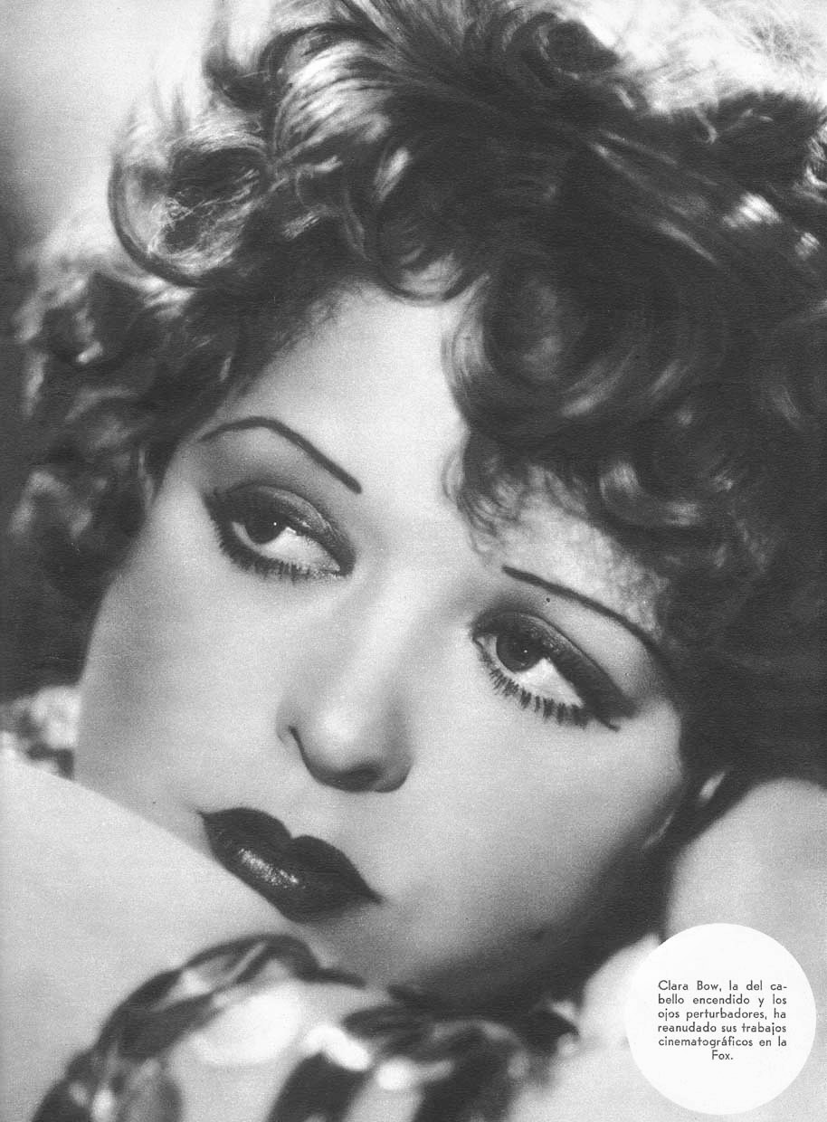 The Makeup Of The 1920s: Clara Bow | The Fashion Folks