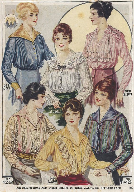 20th century fashion history 1910 - 1920 | The Fashion Folks