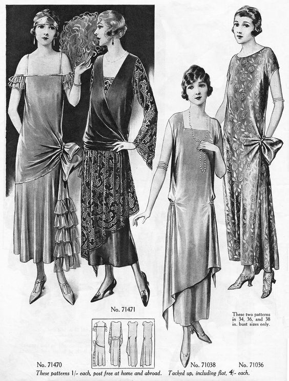 20th Century Fashion History 1920 1930 The Fashion Folks