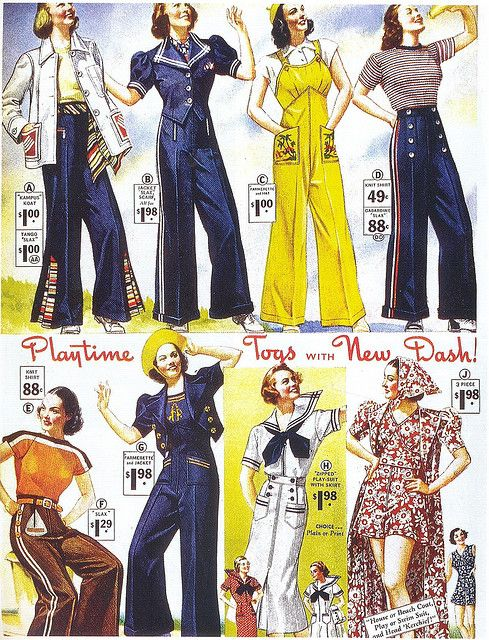 1930 and 1940 fashion 41