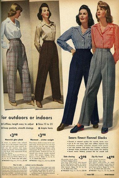 20th Century Fashion History 1940 1950 The Fashion Folks