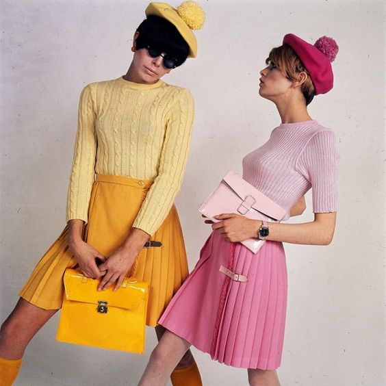 20th century fashion history 1960-1970 | The Fashion Folks