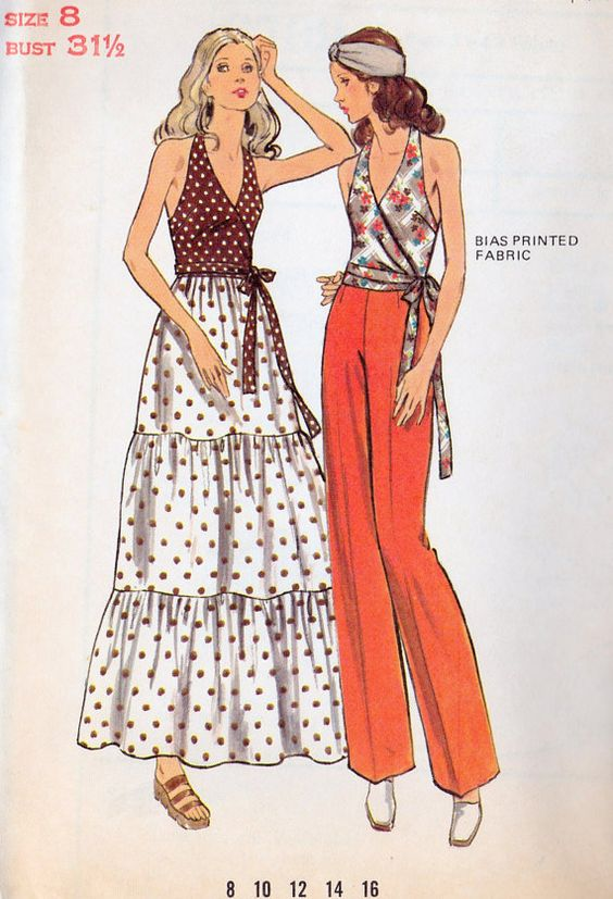 20th century fashion history 1970-1980 | The Fashion Folks