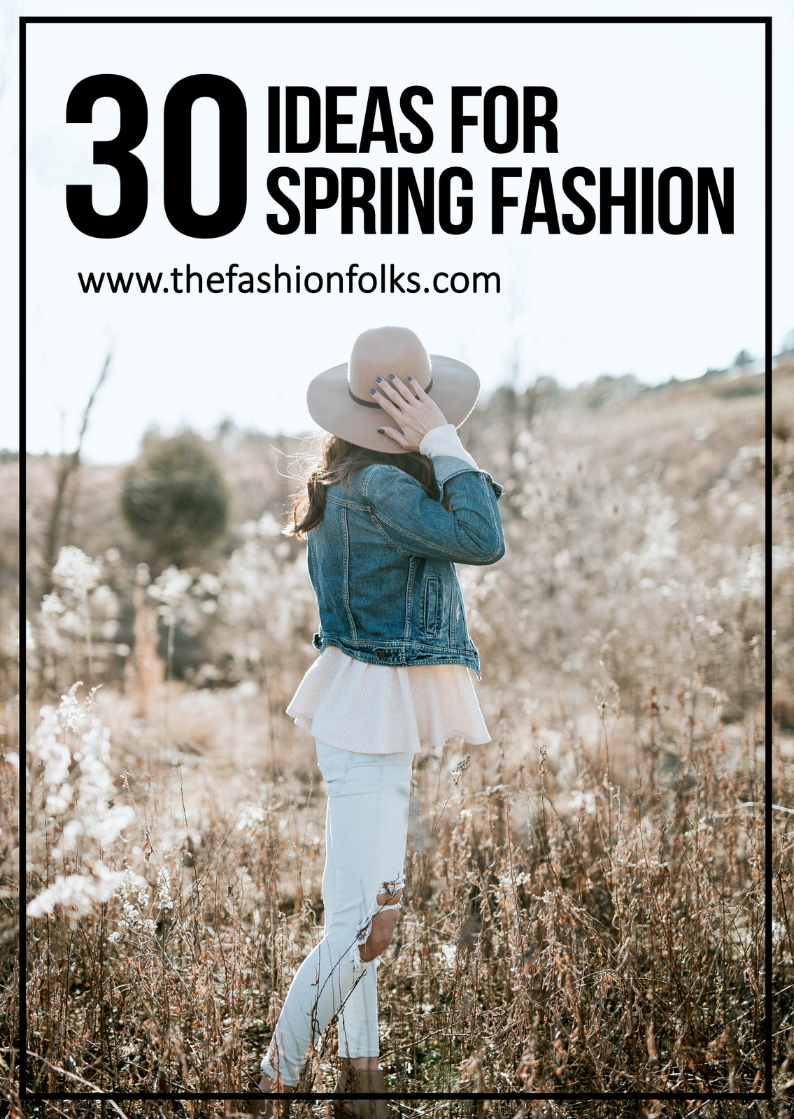 30 Ideas For Spring Fashion 2017 + Outfit inspiration, street style, styling tips, spring clothes | The Fashion Folks