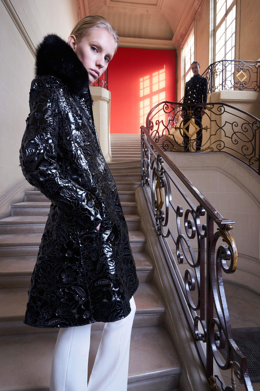 Trend Alert Patent Leather 2017 Giambattista Valli | The Fashion Folks