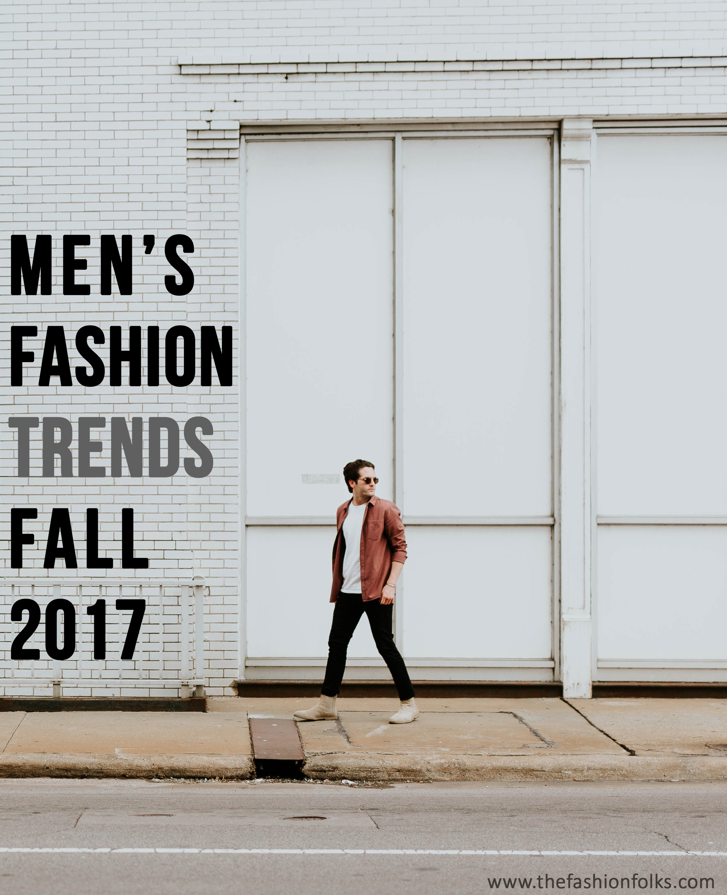Men's Fashion Trends Fall 2017 - The Fashion Folks | Monochrome, Check blazers, 1980s style, oversized silhouette