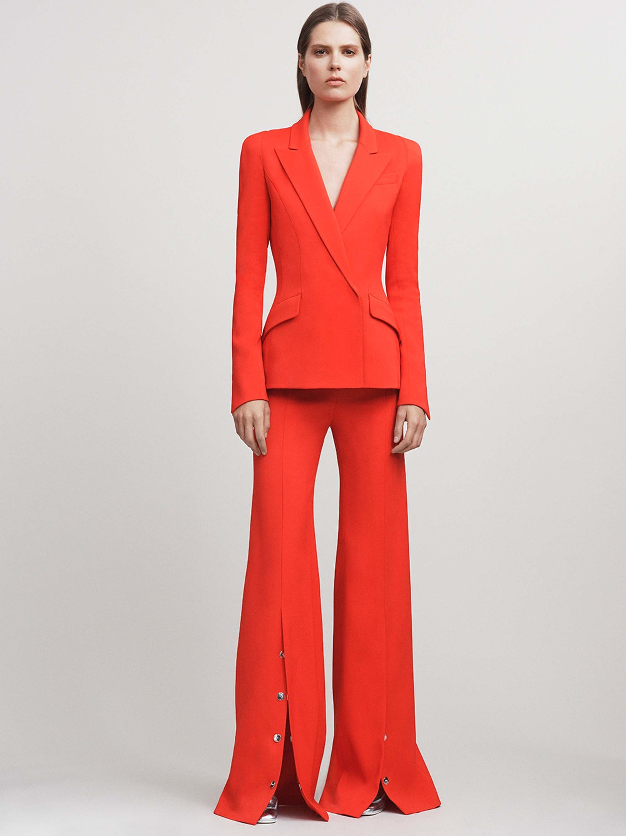 Mugler Resort 2017 How To Wear Red Fall 2017