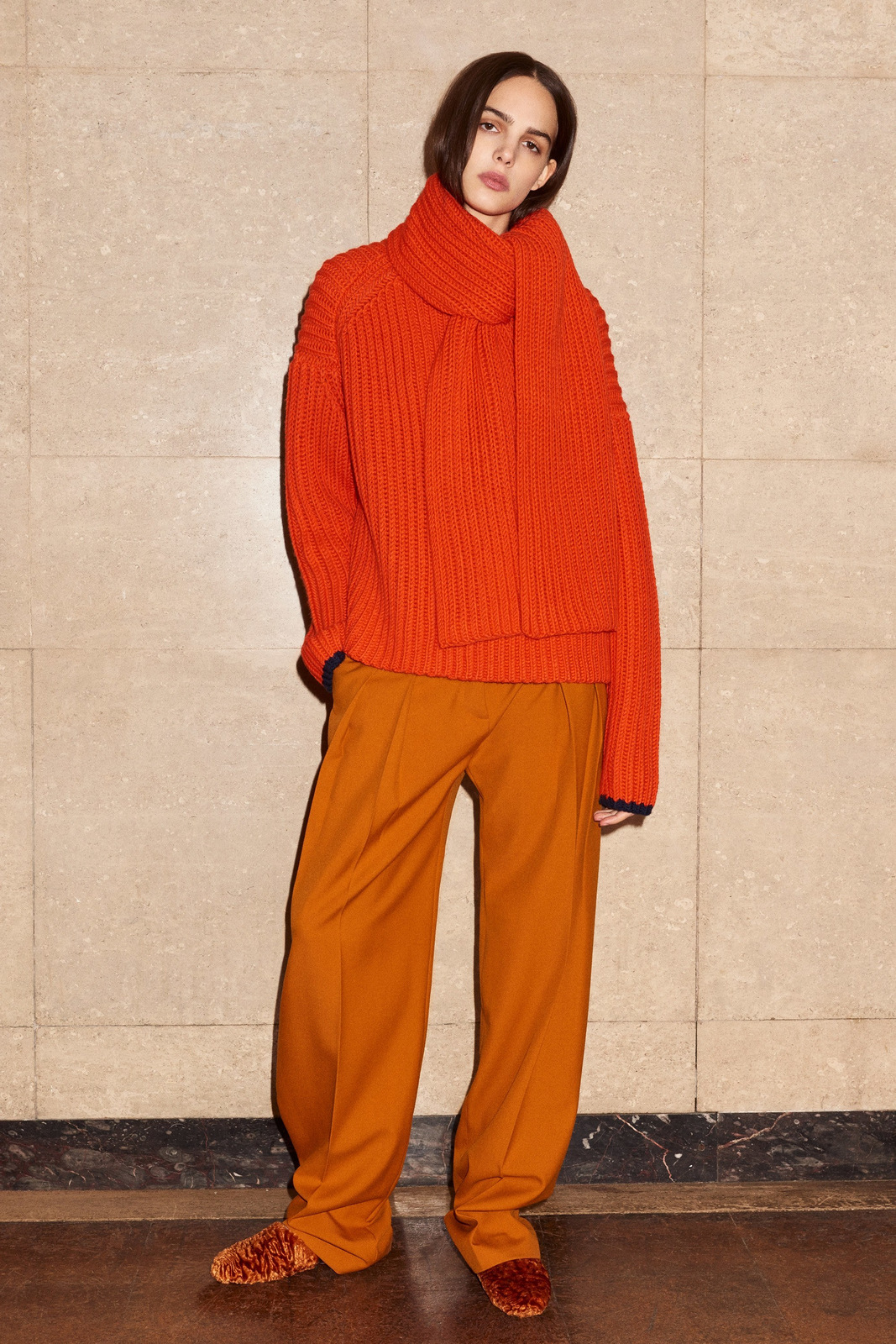 Oversized Knitted Sweater Fall 2017 - Victoria Victoria Beckham Pre-Fall 2017