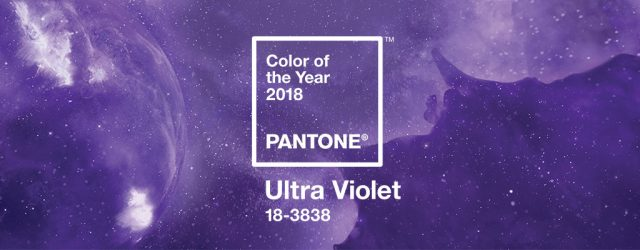 Color Of The Year Pantone 2018 - Ultra Violet