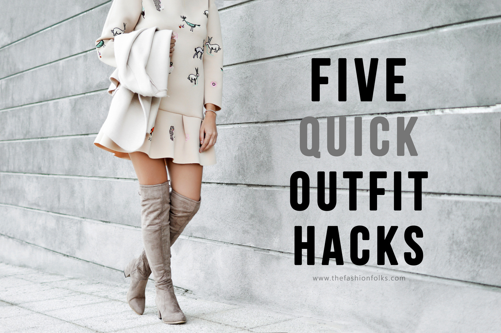 Five Quick Outfit Hacks