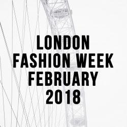 Huishan Zhang Fall 2018 – London Fashion Week