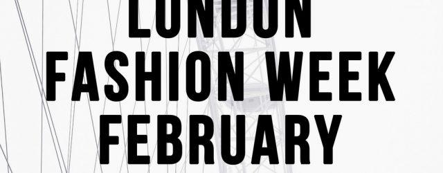 Huishan Zhang Fall 2018 - London Fashion Week February 2018