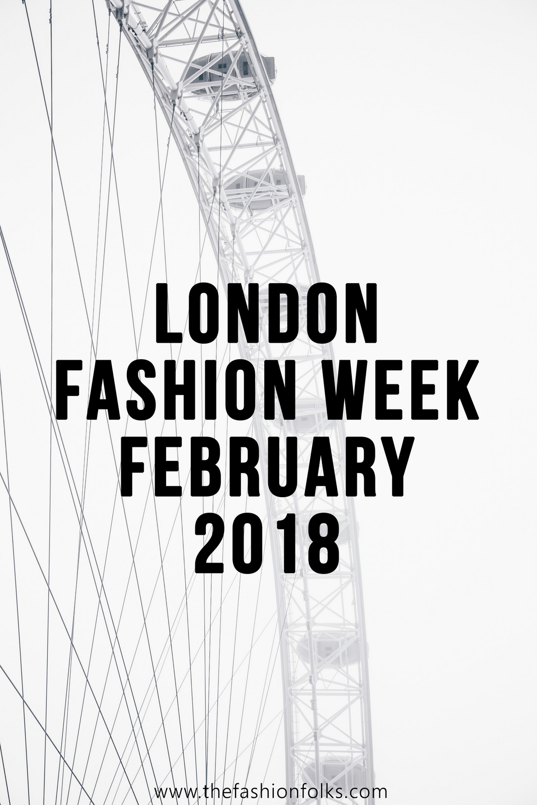 Huishan Zhang Fall 2018 - London Fashion Week February 2018