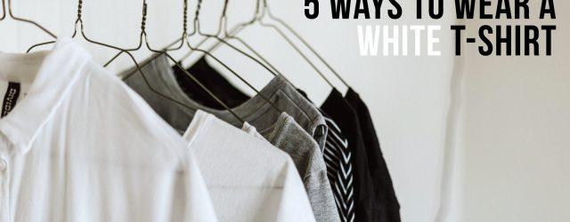 Wear A White T-Shirt