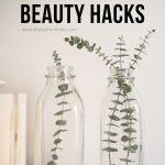 Sustainable Beauty Hacks