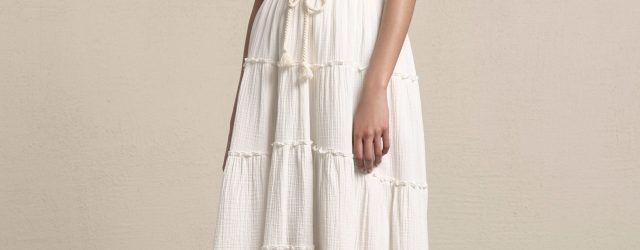 See By Chloé Resort 2018 - White Dress Summer 2018