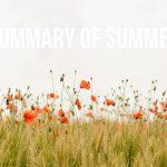 Summary of Summer