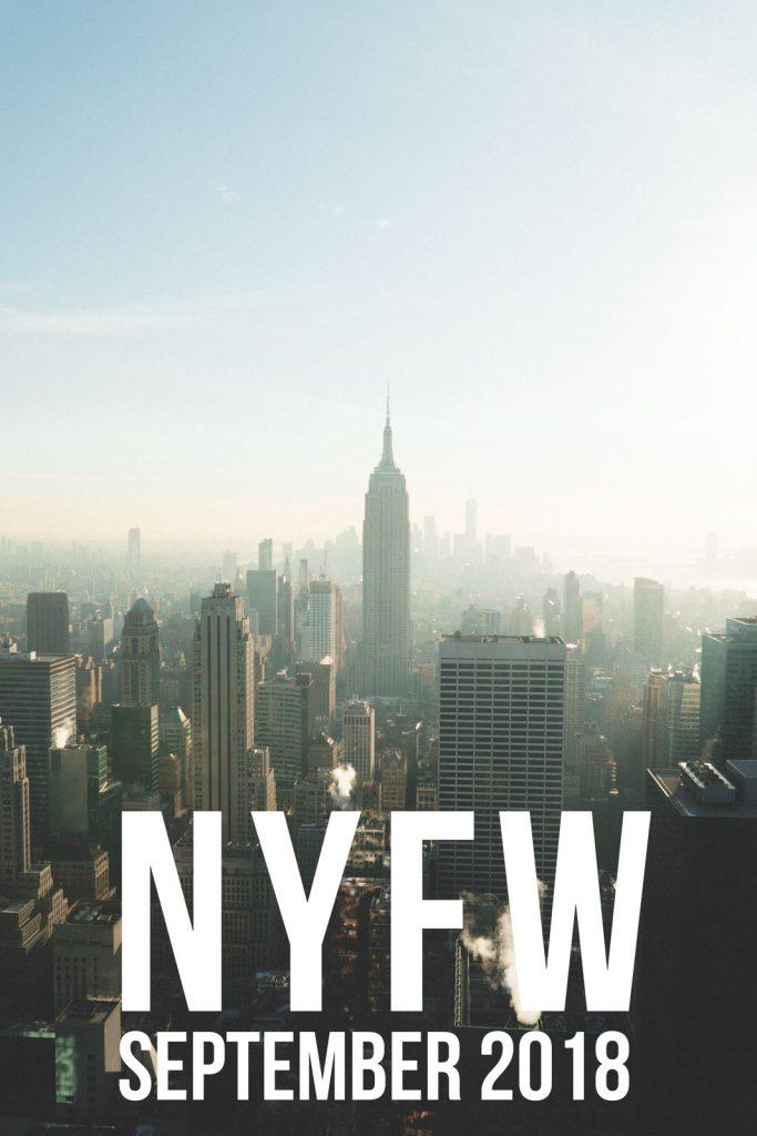 New York Fashion - NYFW September 2018