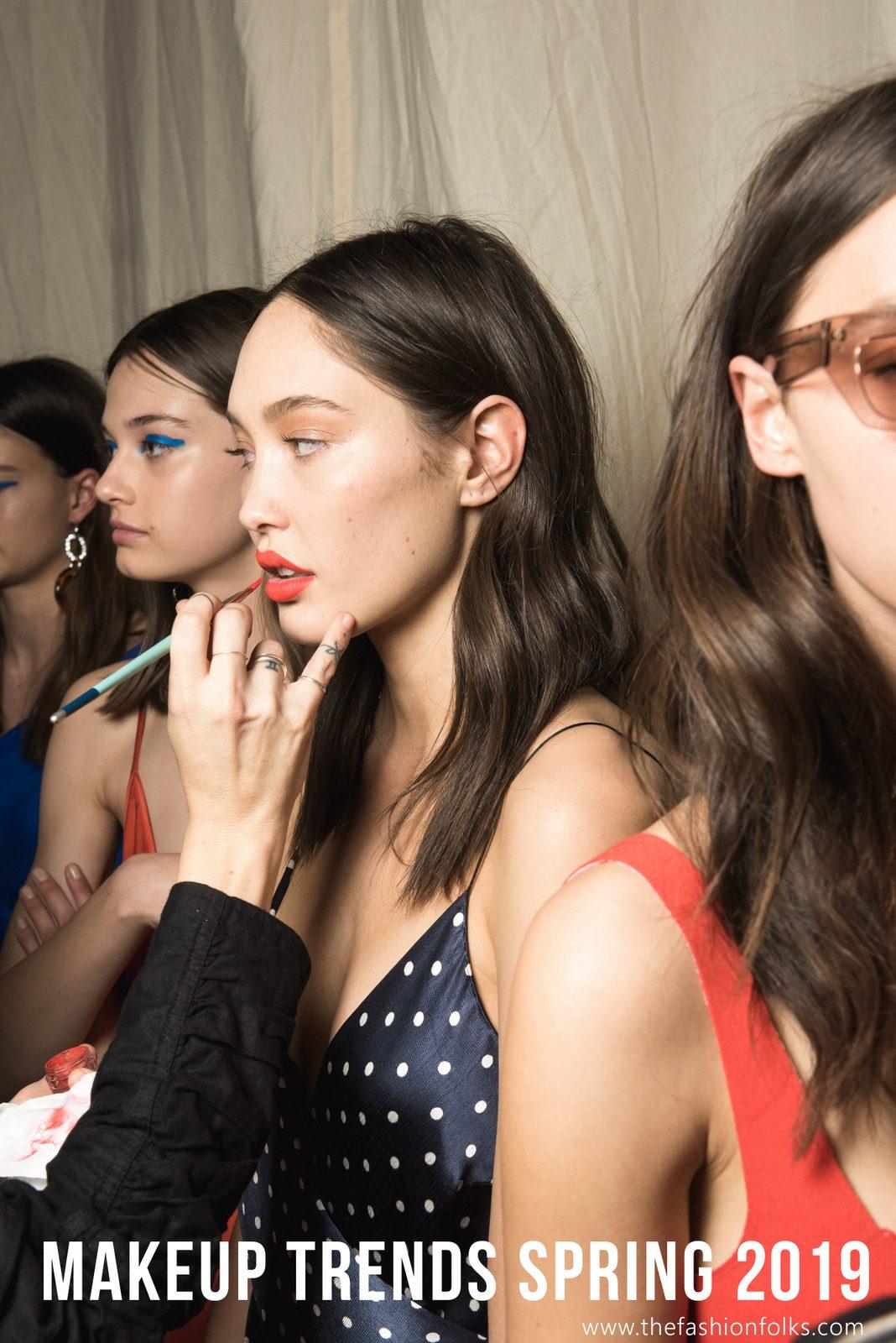 Makeup Trends Spring 2019