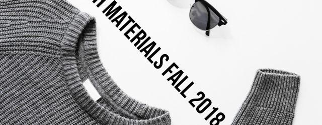 Stylish Materials Fall 2018
