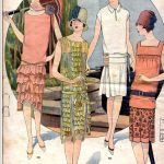 Fashion History of Details: The Neck 1920s