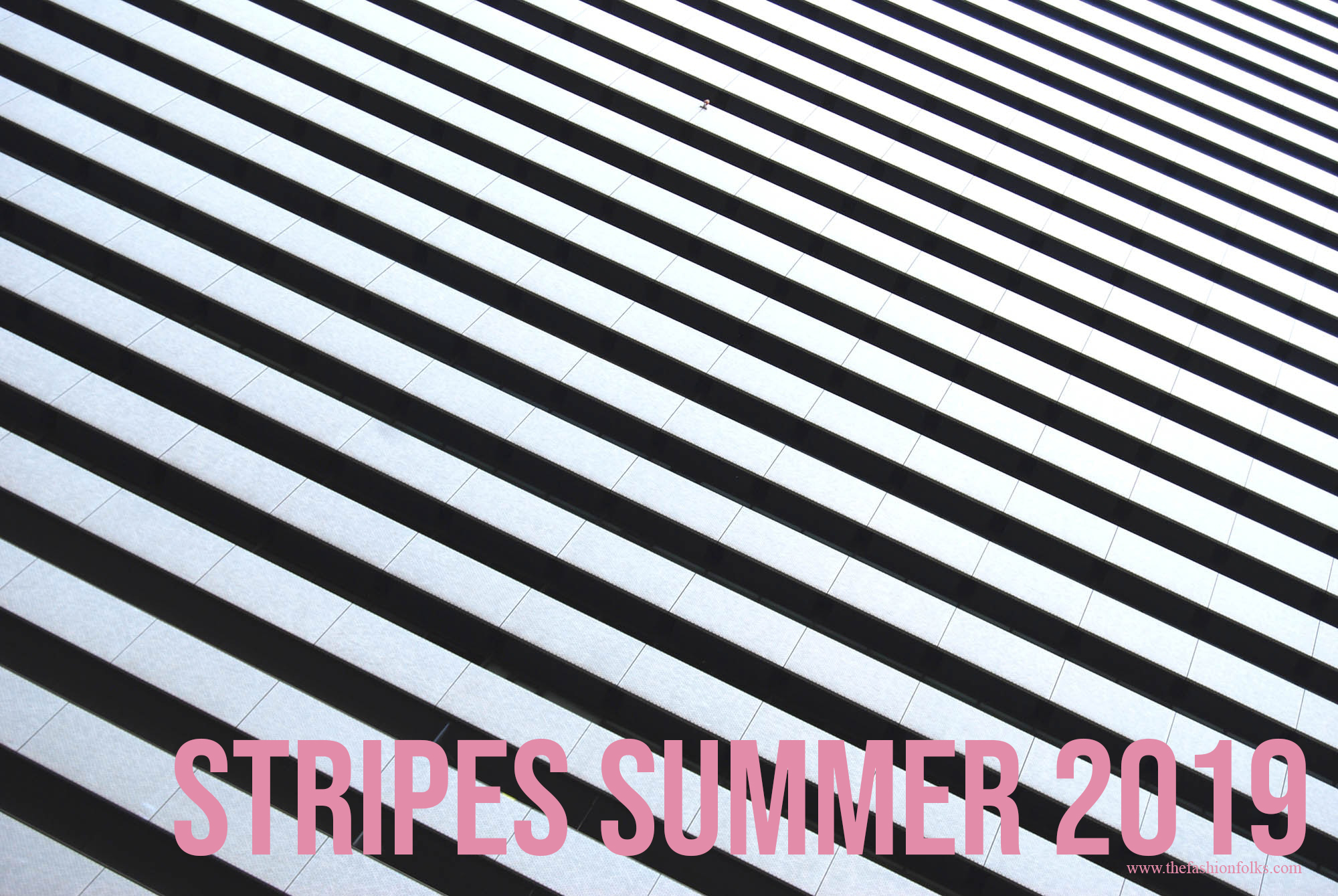 Stripes Summer 2019 Black and white stripes pink text outfit fashion fashion blog