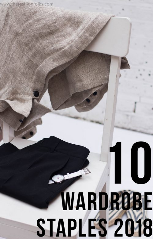10 Wardrobe Staples 2018