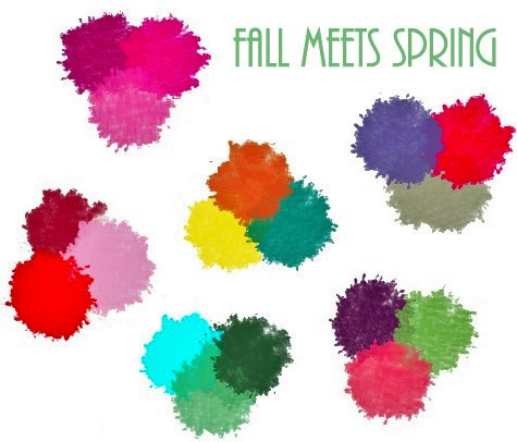 Fall Meets Spring