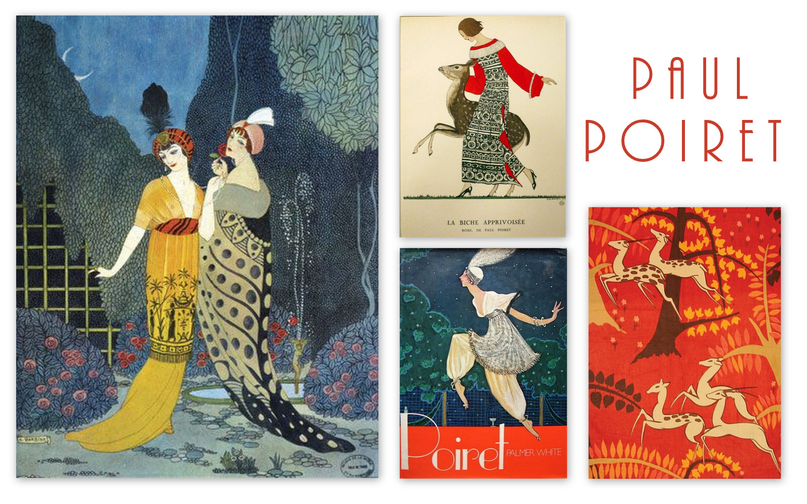 The Story Of Fashion Designer Paul Poiret The Fashion Folks