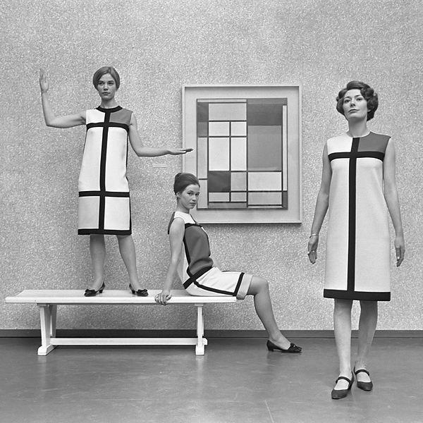 Fashion and Art - The Mondrian Dress | The Fashion Folks