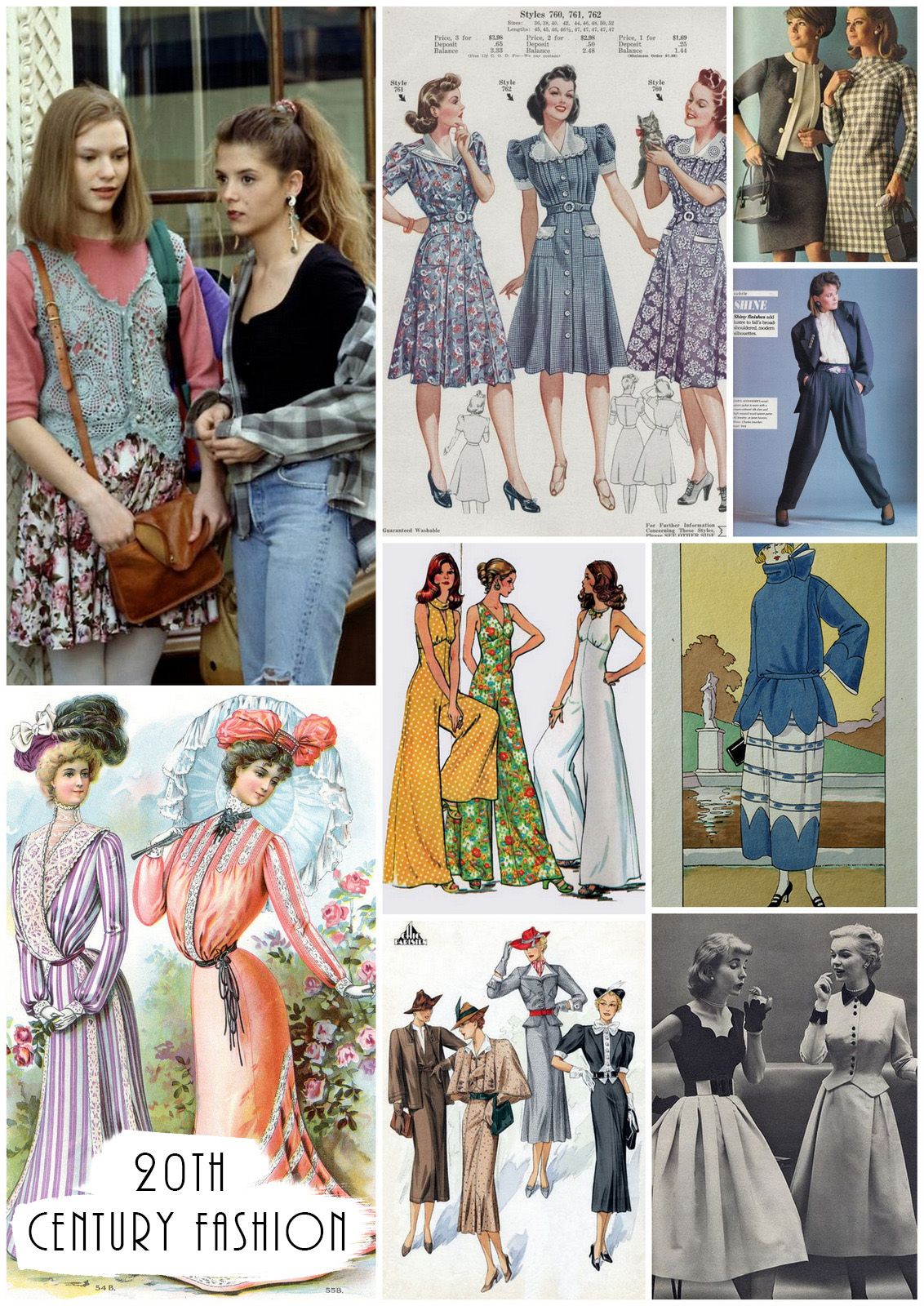 A fashion guide to womenswear the last 100 years and the 20th century fashion | The Fashion Folks