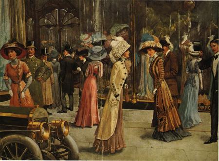 20th century fashion history 1900 - 1910 | The Fashion Folks
