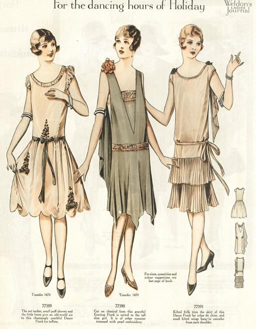 20th century fashion history 1920 - 1930 | The Fashion Folks