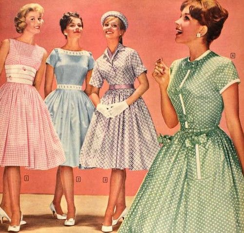 20th Century Fashion History: 1950-1960