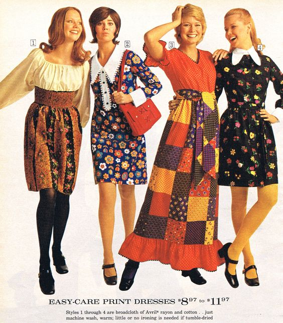 20th century fashion history 1970-1980 | The Fashion Folks