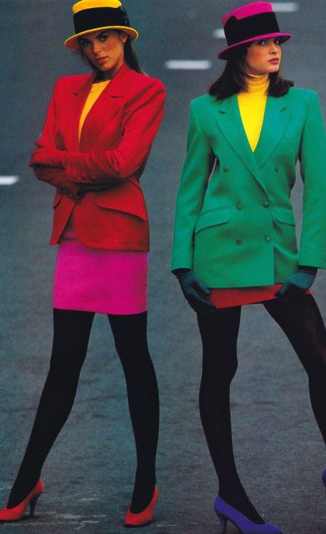 20th century fashion history 1980-1990 | The Fashion Folks
