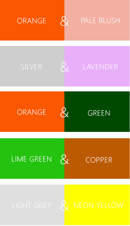 5 Awkward Color Combinations | The Fashion Folks