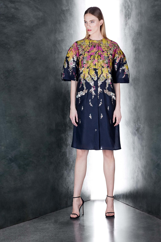 Resort 2018 Collections - Pamella Roland - Blue Dress