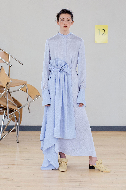 Resort 2018 Collections - Roksanda - Blue Dress