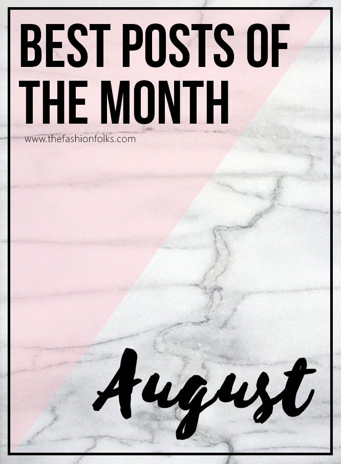 Summary: Posts of August