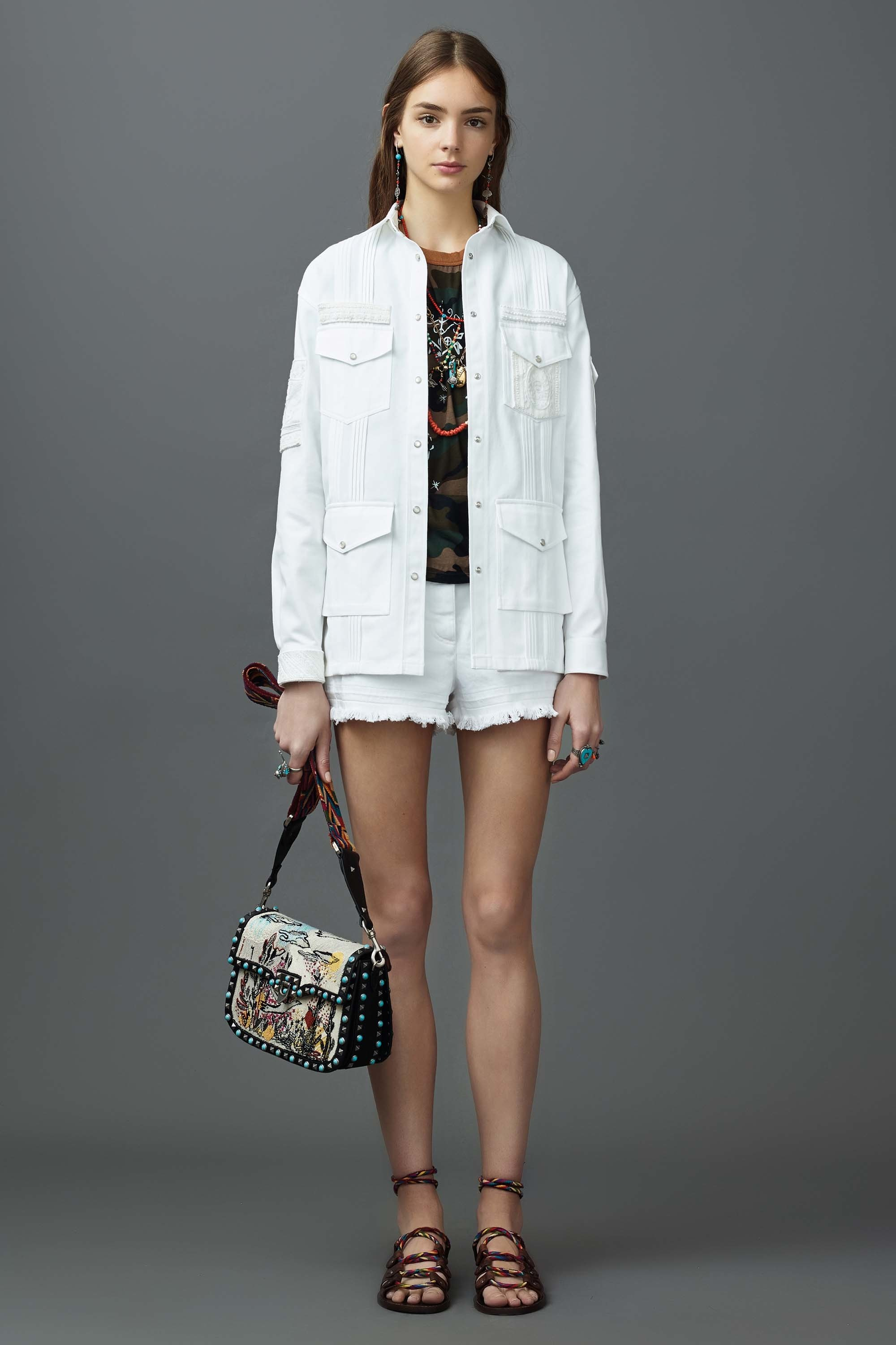 Valentino Resort 2017 How To Work Denim Shorts Summer 2017 | The Fashion Folks