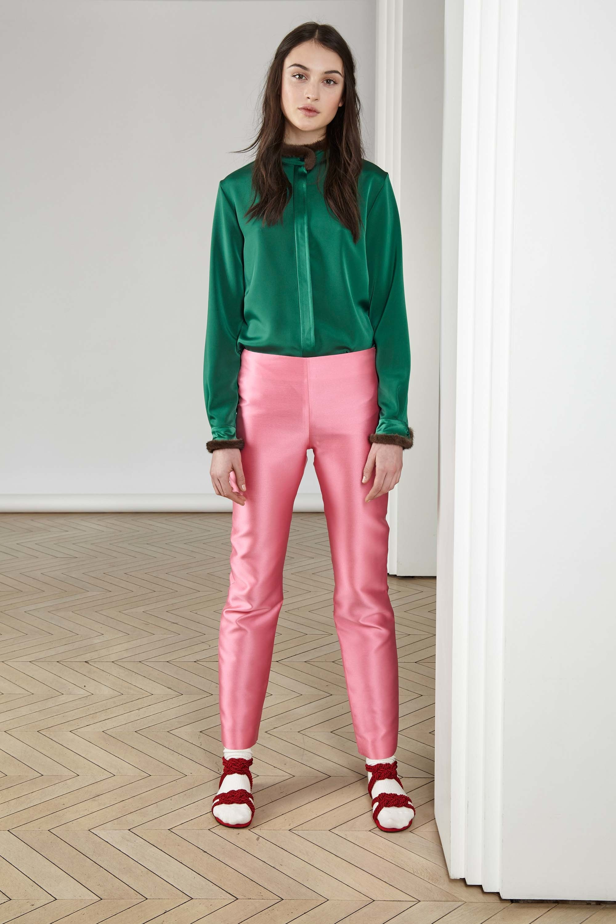 Colors Aren't Matching - Alexis Mabille Pre-Fall 2017