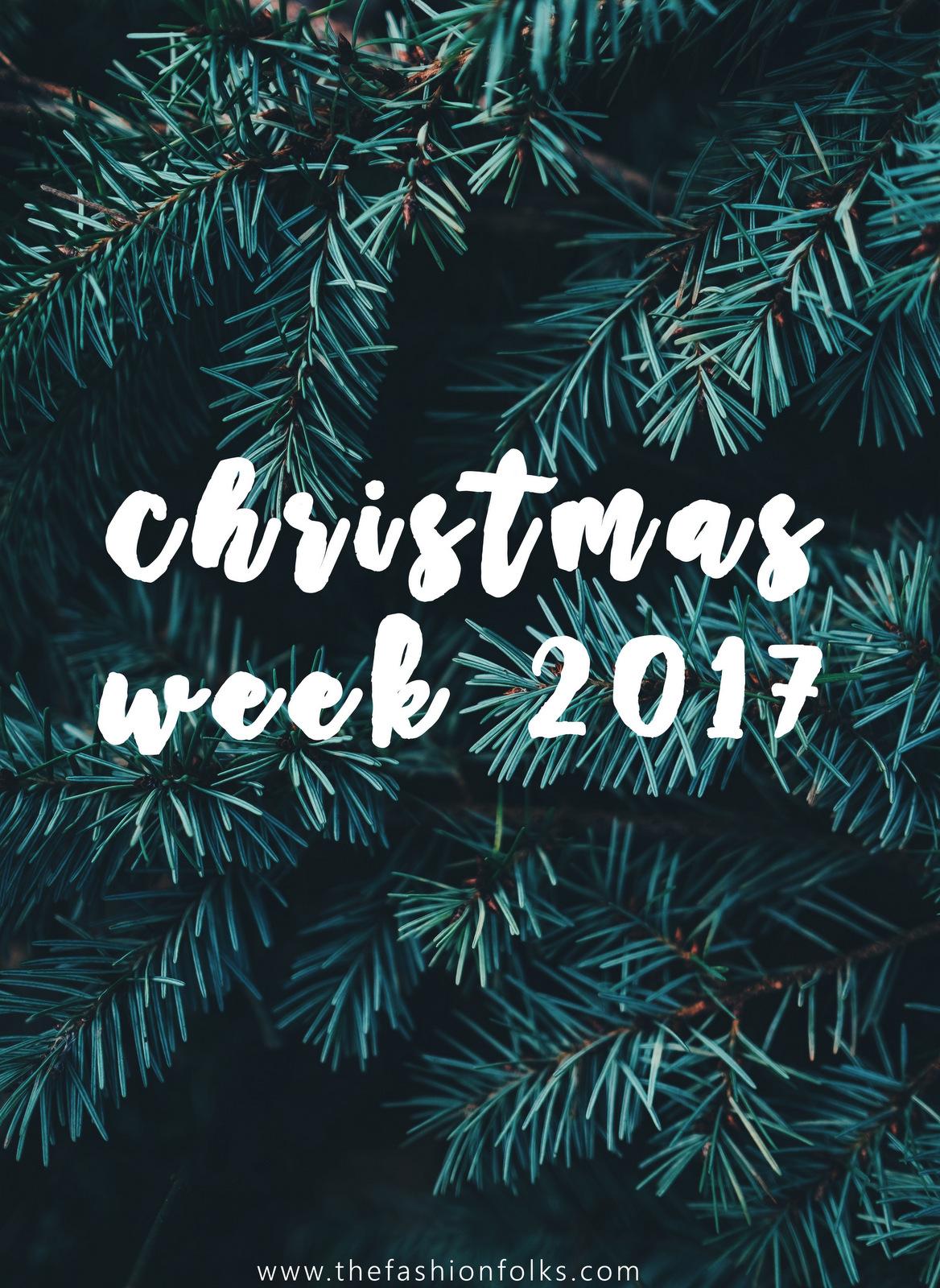Christmas Week 2017