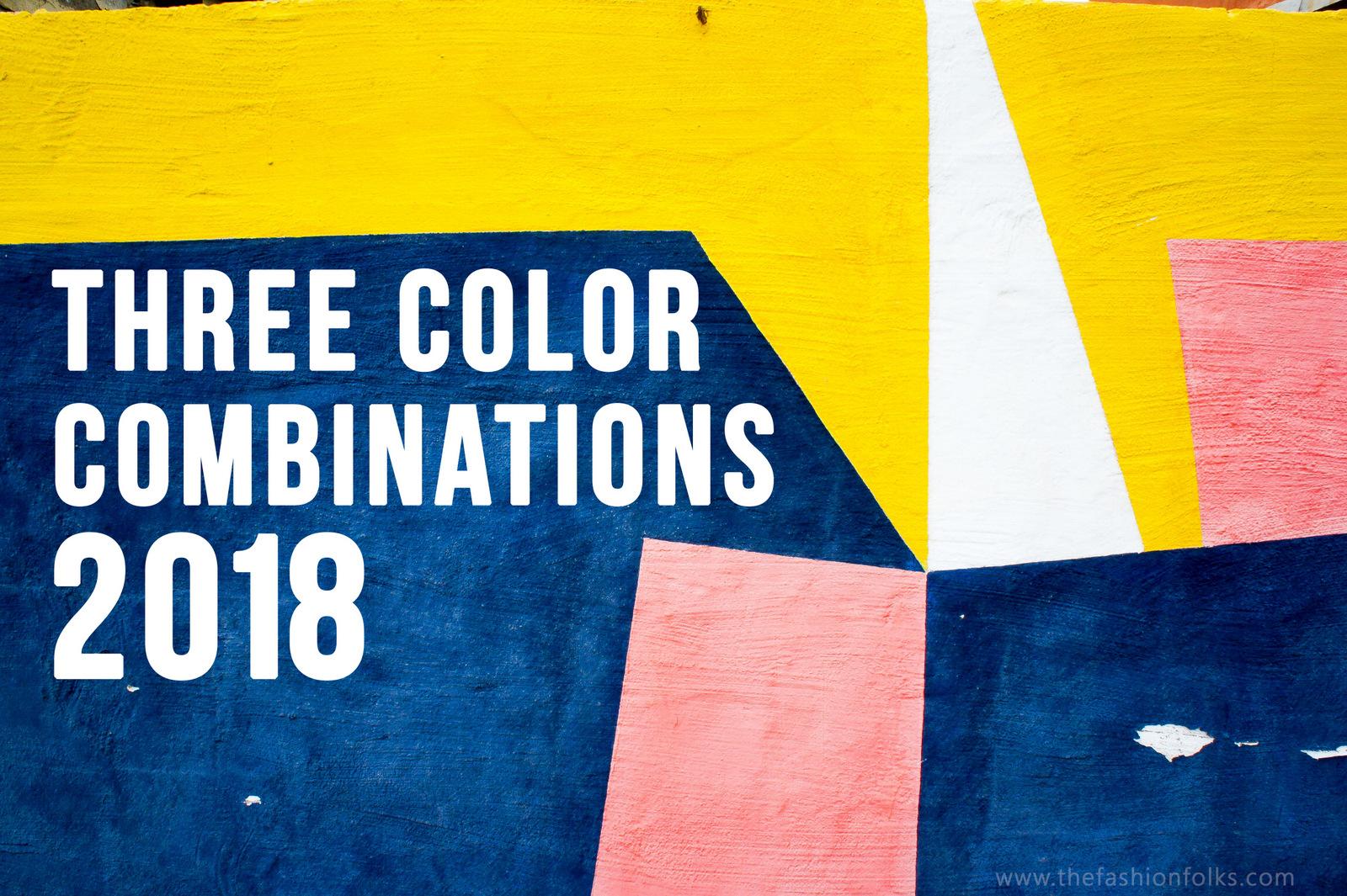 Three Color Combinations 2018
