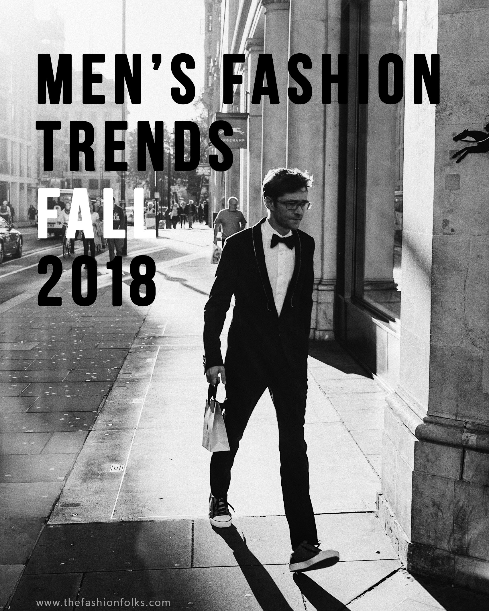 Men's Fashion Trends Fall 2018
