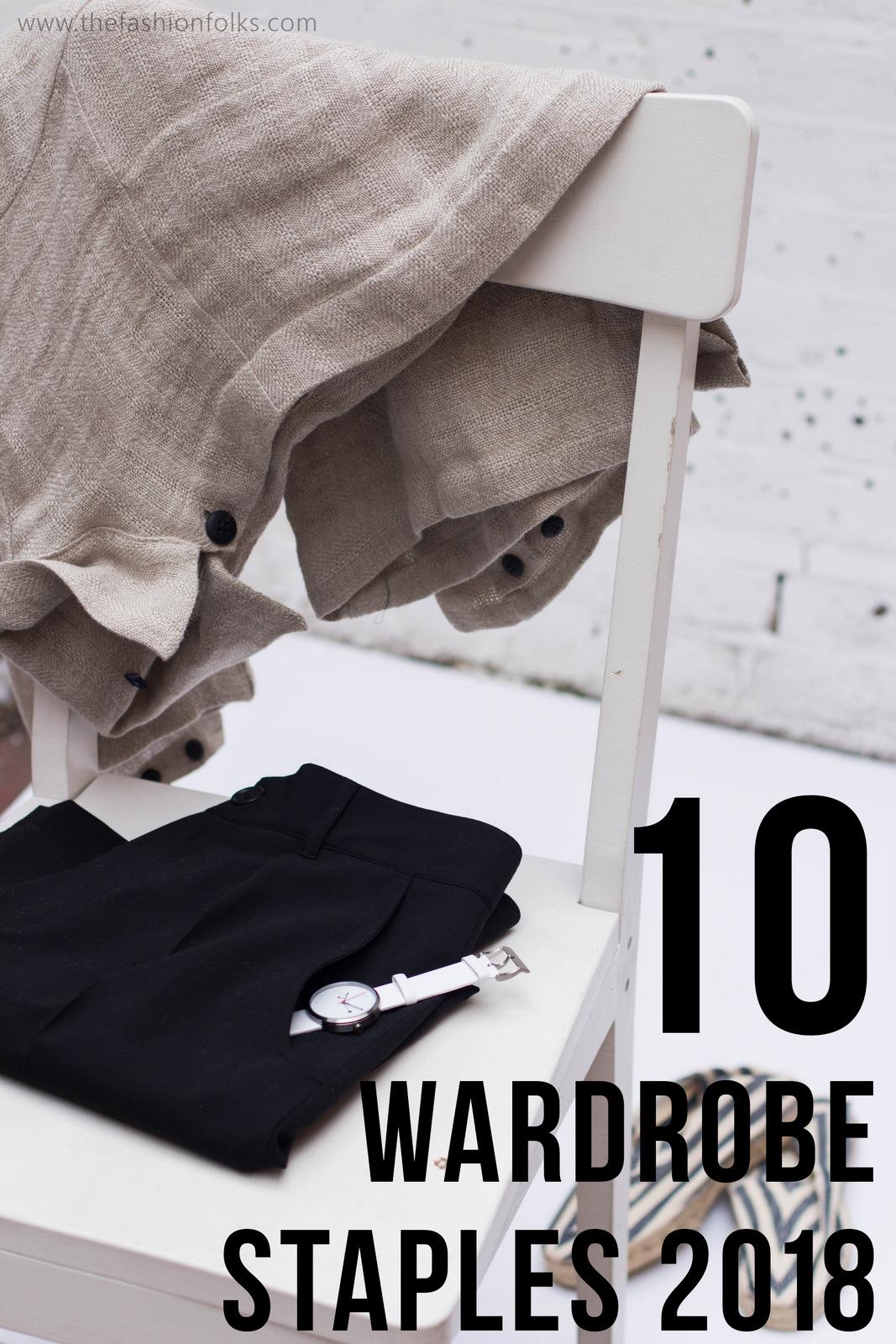 10 Wardrobe Staples 2018