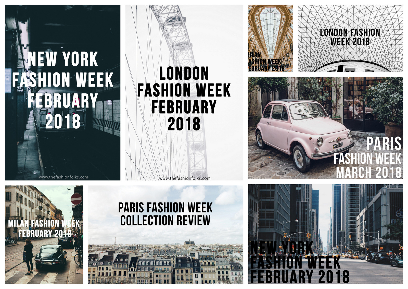Summary: Fashion Weeks Winter 2018