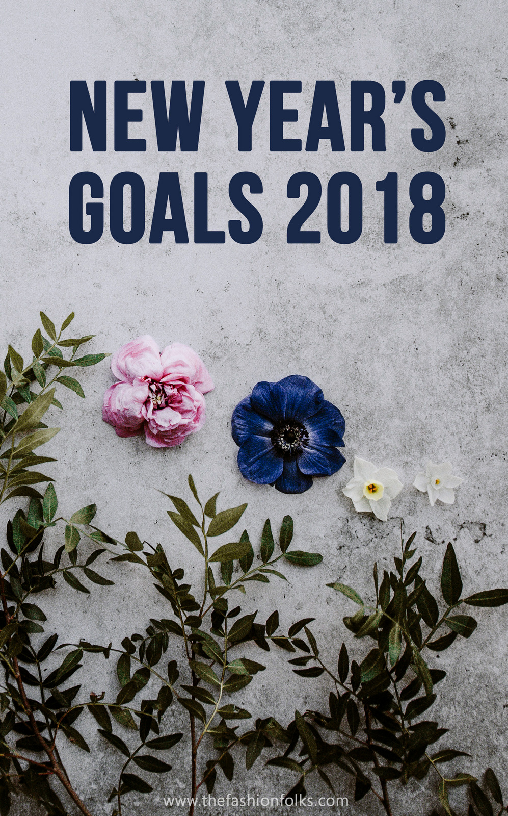 Reminder: New Year's Goals 2018